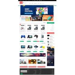 طراحی فروشگاه اینترنتی (بسته برنزی)