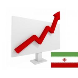 افزایش بازدید ایرانی